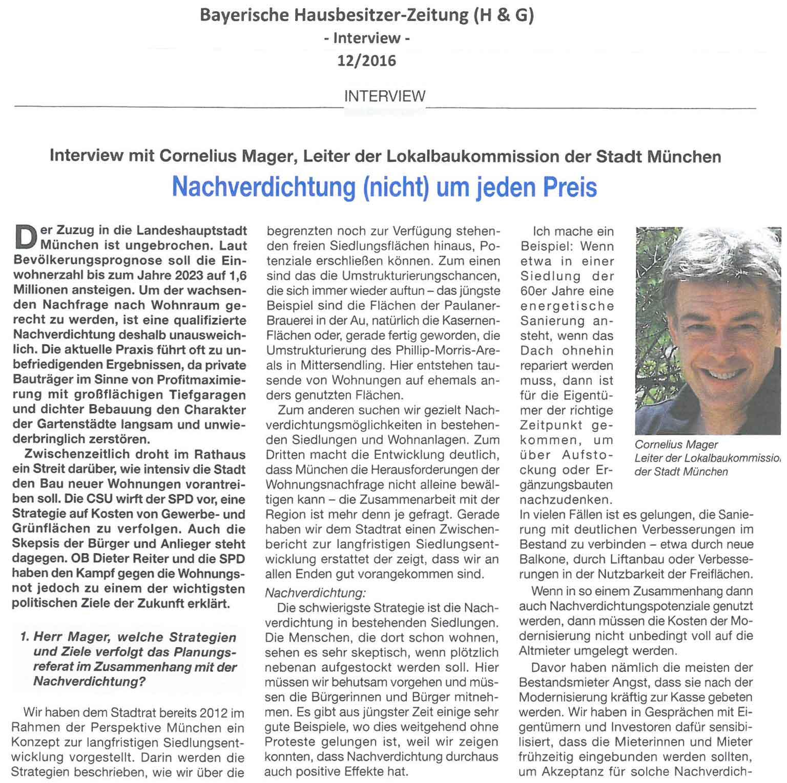 Interview Schindecker - Mager Seite 1